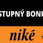 Vstupný a uvítací bonus Niké kasíno