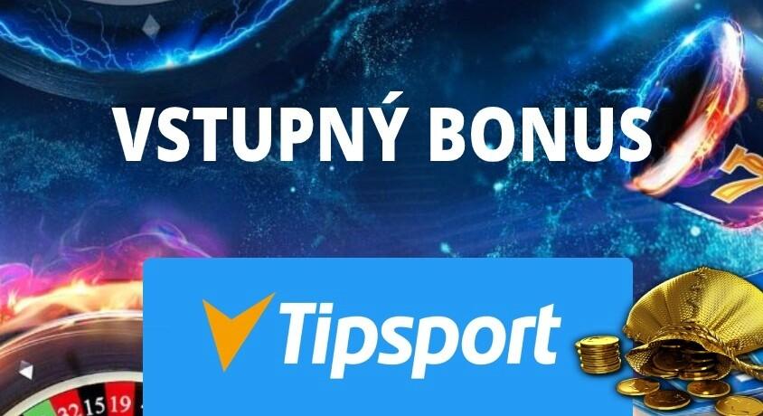 Vstupný a uvítací bonus Tipsport kasíno