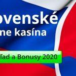 Slovenské online kasína a bonusy