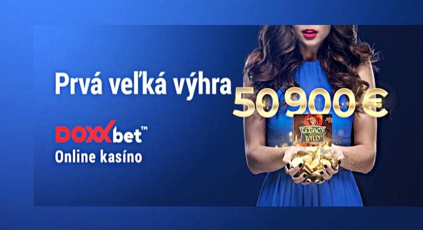 DoxxBet Kasíno najväčšie výhry v online kasíne
