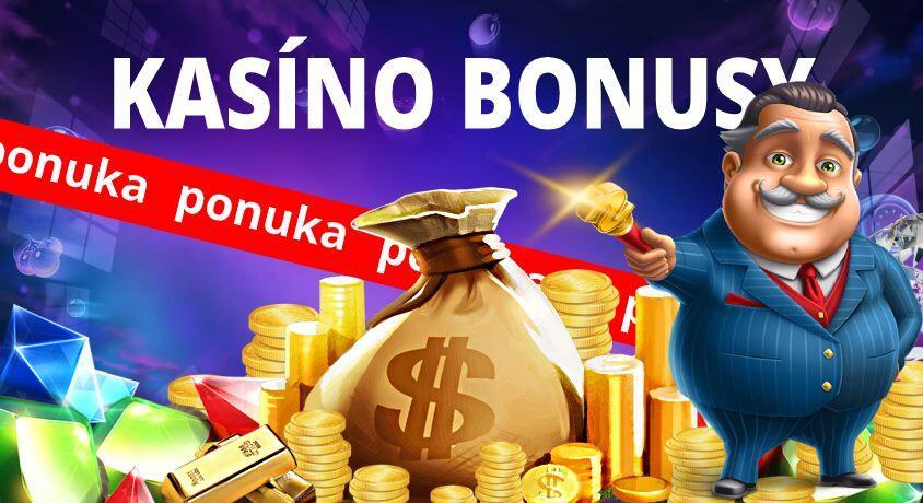 Kasíno bonusy na Slovensku 2020