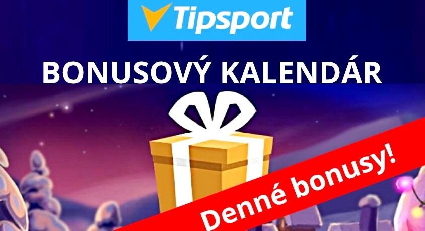 tipsport kasíno bonusový kalendár