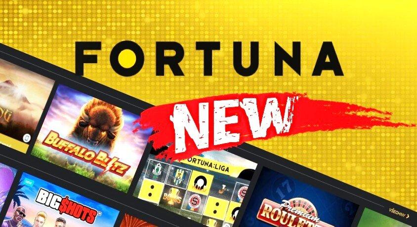 Fortuna kasíno recenzia nových hier