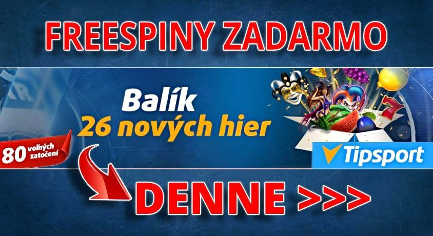 Tipsport Kasíno Balík nových hier