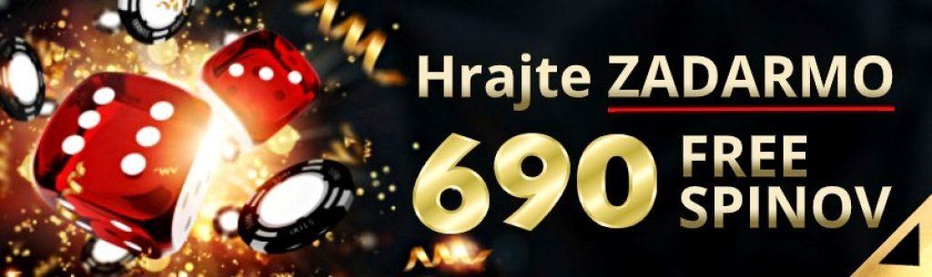 synottip kasino 690 free spinov zadarmo