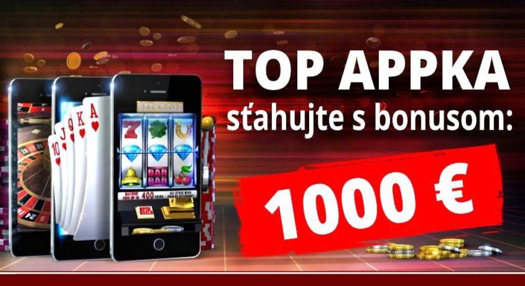 mobilná online casino aplikácia