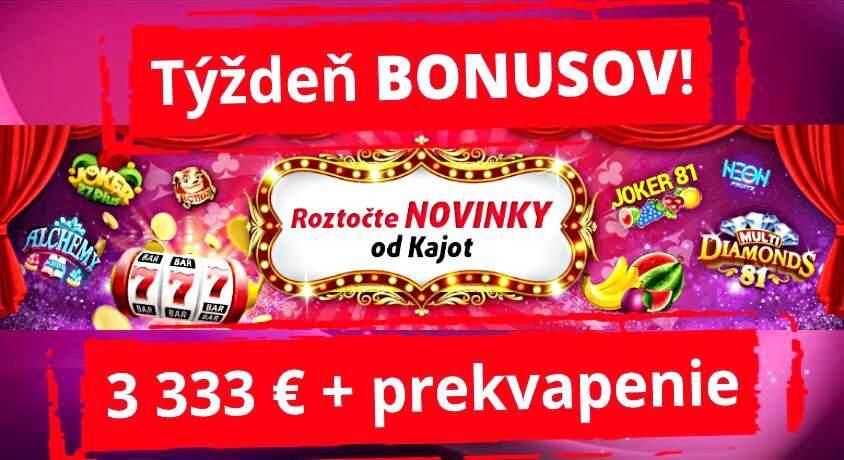 Kajot Casino Online Zdarma