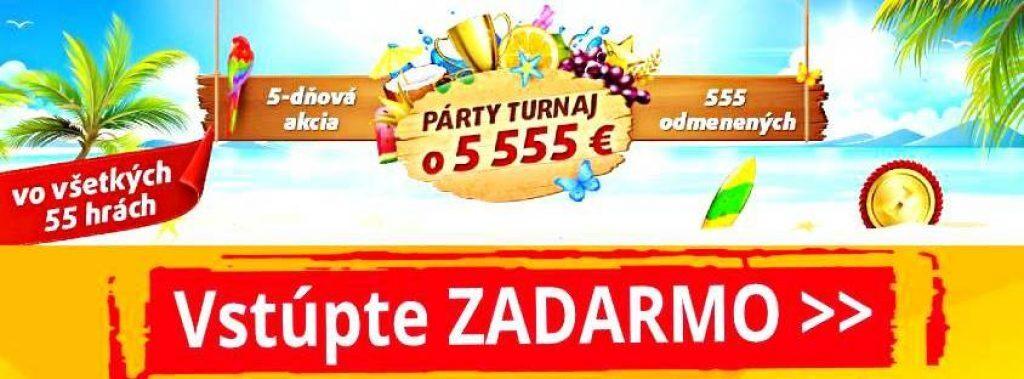Tipsport casino turnaje