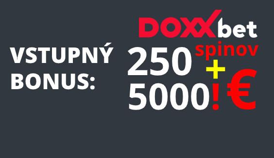 doxxbet casino online vstupný bonus