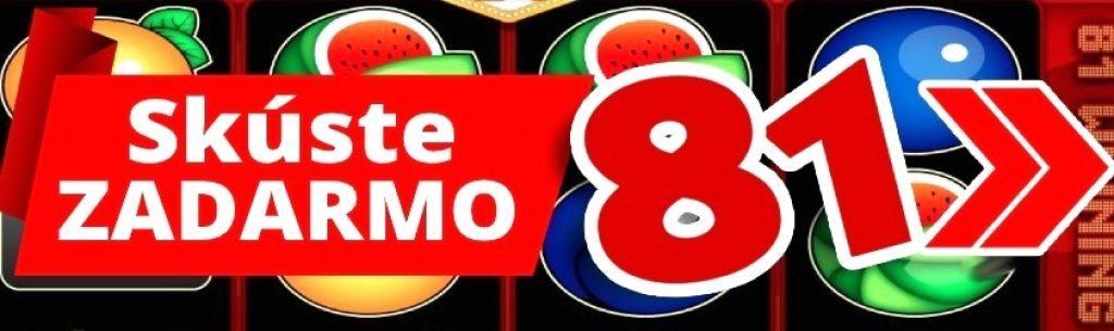 kajot 81 Automaty zadarmo online