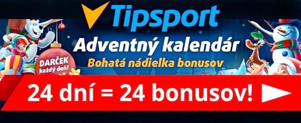 Tipsport Adventný kalendár