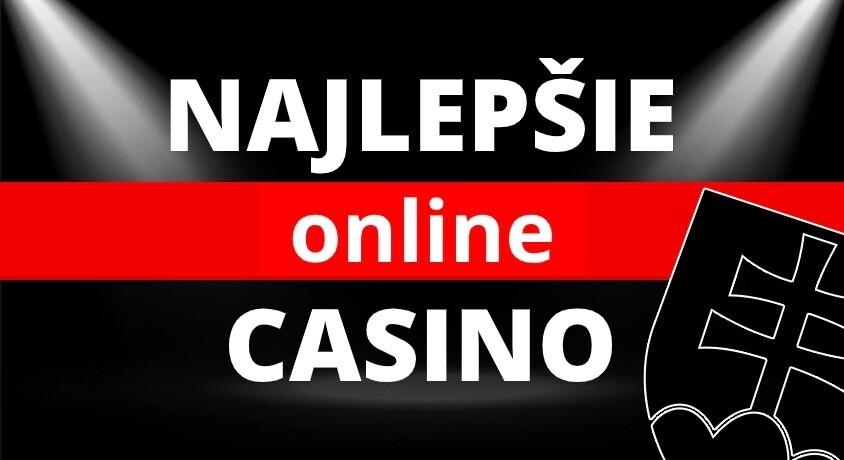 najlepšie online casino