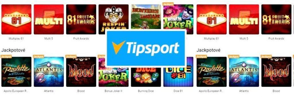 tipsport výherné automaty