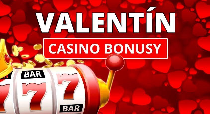 valentín casino bonus zadarmo