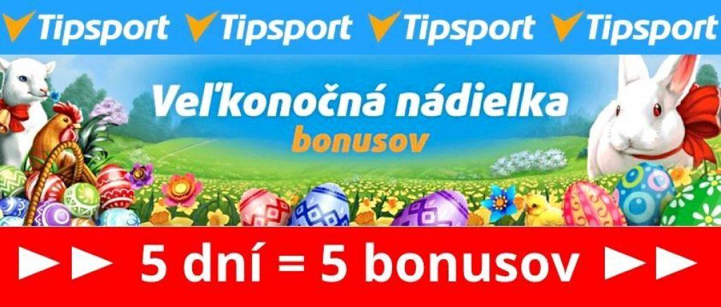veľkonočný online casino bonus Tipsport free spiny