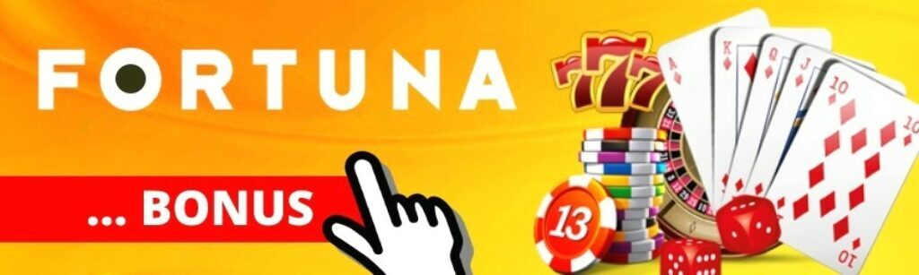 Fortuna online casino bonus bez vkladu