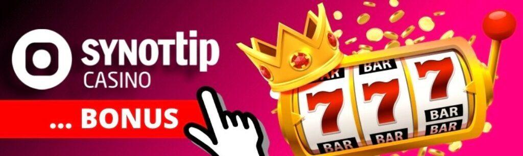 Synottip online casino bonus bez vkladu